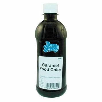 Baron Caramel Food Coloring 16 Oz Bottle