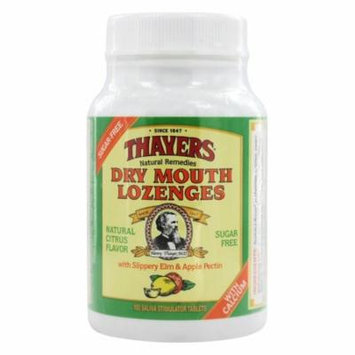 Thayers - Sugar-Free Dry Mouth Lozenges Citrus - 100 Lozenges(pack of 1)