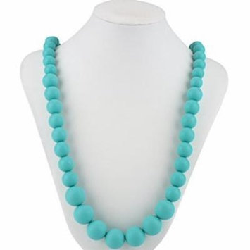 Nuby Teething Trends Round Beads Teething Necklace