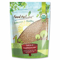 Food To Live ® Organic Wheat Berries (1 Pound)