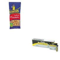 KITEVEEN91PTN07708 - Value Kit - Planters Salted Peanuts (PTN07708) and Energizer Industrial Alkaline Batteries (EVEEN91)