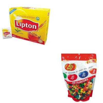 KITLIP291OFX98475 - Value Kit - JELLY BELLY CANDY COMPANY Candy (OFX98475) and Lipton Tea Bags (LIP291)