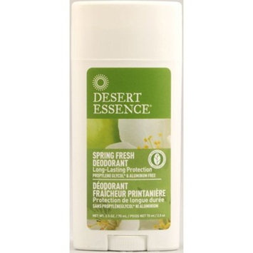 Desert Essence Spring Fresh Deodorant - 2.5 oz