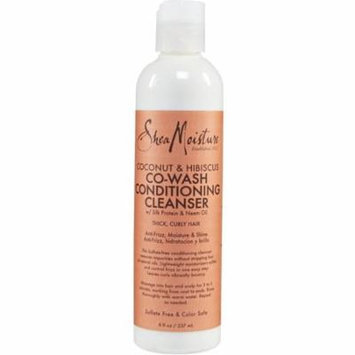 Shea Moisture Coconut & Hibiscus Co-Wash Conditioning Cleanser 8 oz