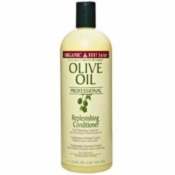 2 Pack - Organic Root Stimulator Salon Olive Oil Replenishing Conditioner, 33.8 oz