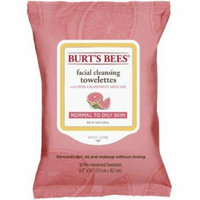 3 Pack - Burt's Bees Facial Cleansing Towelettes, Pink Grapefruit 30 ea