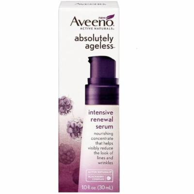 6 Pack - AVEENO Active Naturals Absolutely Ageless Intensive Renewal Serum, Blackberry 1 oz
