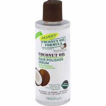 2 Pack - Palmer's Coconut Oil Formula with Vitamin E Hair Polisher Serum 6 oz