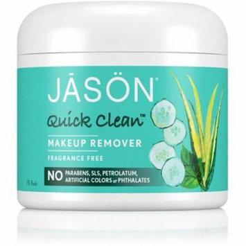 Jason Quick Clean Makeup Remover Pads 75 ea