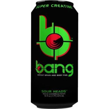 VPX Bang - Sour Heads - 16fl.oz. (Pack of 16)