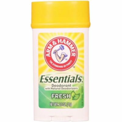 3 Pack - ARM & HAMMER Essentials Natural Deodorant, Fresh 2.5 oz