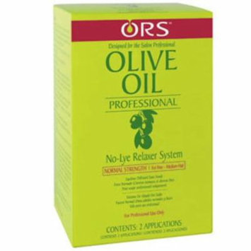 4 Pack - Organic Root Stimulator Olive Oil Professional No-Lye Relaxer System Extra Strength
