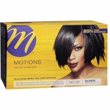 Motions Silkening Shine No Lye Relaxer System Super Kit