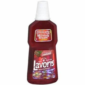 4 Pack - Lavoris Mouthwash Original Cinnamon (1 Ltr) 33.80 oz