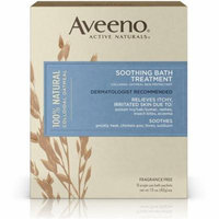 2 Pack - AVEENO Active Naturals Soothing Bath Treatment Packets 8 Each