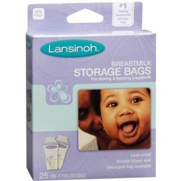 6 Pack - Lansinoh Breastmilk Storage Bags 25 Each