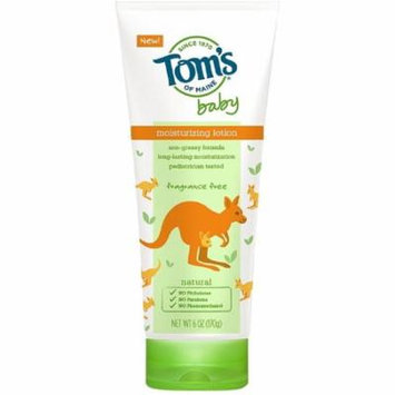 Tom's of Maine Baby Moisturizing Lotion, Fragrance Free 6 oz