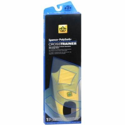 2 Pack - Spenco PolySorb Cross Trainer Insoles Size 3 1 Pair