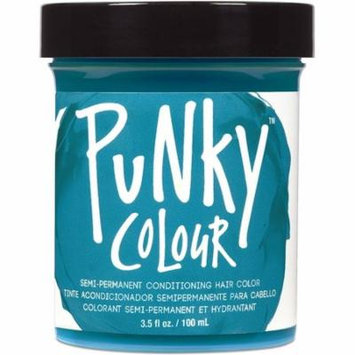 Jerome Russell Semi Permanent Punky Colour Hair Cream Turquoise 3.5 oz