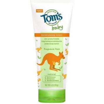 4 Pack - Tom's of Maine Baby Moisturizing Lotion, Fragrance Free 6 oz