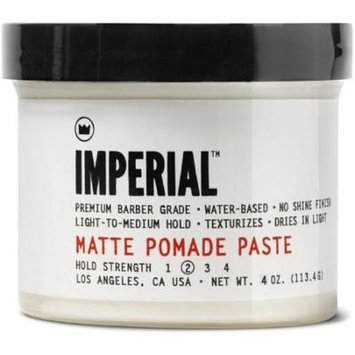 3 Pack - Imperial Barber Products Matte Pomade Paste 4 oz