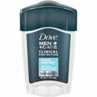 4 Pack - Dove Men + Care Clinical Protection Antiperspirant Deodorant Solid Clean Comfort 1.70 oz