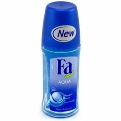 3 Pack - FA 24 Hour Roll-On Deodorant, Aqua 1.7 oz