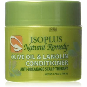 Isoplus Natural Remedy Olive Oil & Lanolin Contitioner, 4 oz