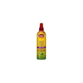 4 Pack - African Pride Braid Sheen Spray, Extra Shine 12 oz