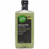 Irish Spring Signature for Men Clean & Scrub Body Wash 15 oz