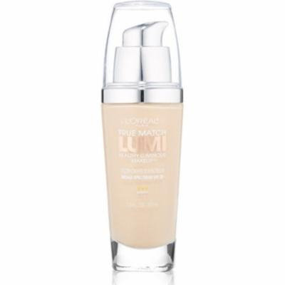 2 Pack - L'Oreal True Match Lumi Healthy Luminous Makeup, Porcelain/Light Ivory [W1-2], 1 oz