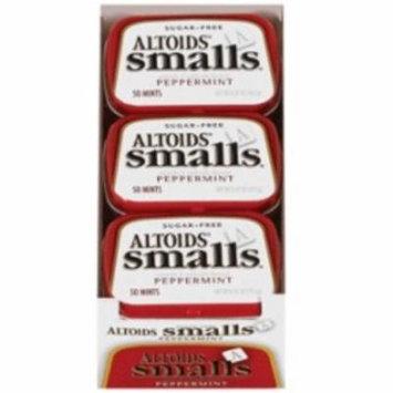 3 Pack - Altoids Smalls Sugar Free Peppermint Mints 9 packs (0.37 oz per pack)