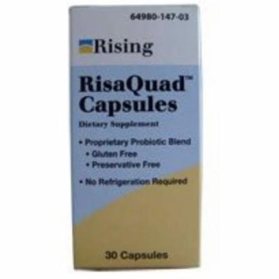 Risaquad Capsules, Probiotic Dietary Supplement 30 ea
