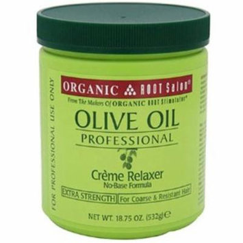 6 Pack - Organic Root Stimulator Olive Oil Creme Relaxer Extra-Strength, 18.75 oz