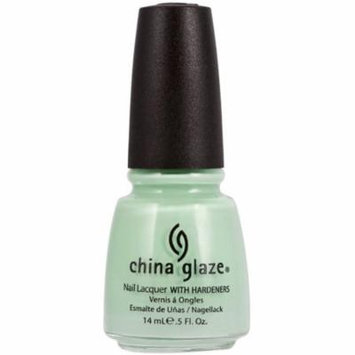 4 Pack - China Glaze Nail Polish, Re-Fresh Mint, 0.5 oz
