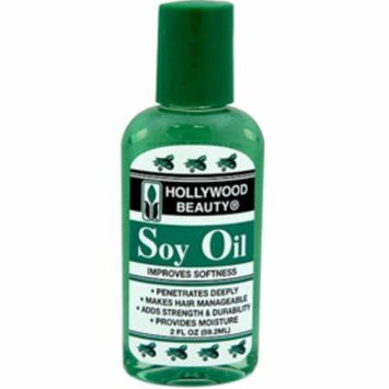 6 Pack - Hollywood Beauty Soy Oil, 2 oz