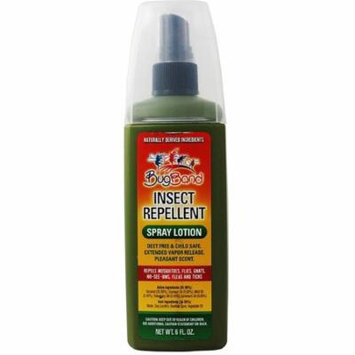 2 Pack - BugBand Insect Repellant Pump Spray Lotion, Deet Free 6 oz