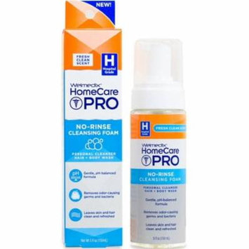 6 Pack - Welmedix HomeCare Pro No-Rinse Cleansing Foam 5 oz