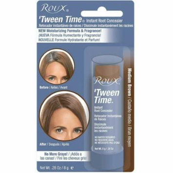 4 Pack - Roux 'Tween Time Instant Root Concealer Touch-Up Stick Medium Brown, 1 ea