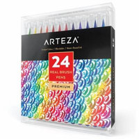 Arteza Watercolor Real Brush Pens (Set of 24)