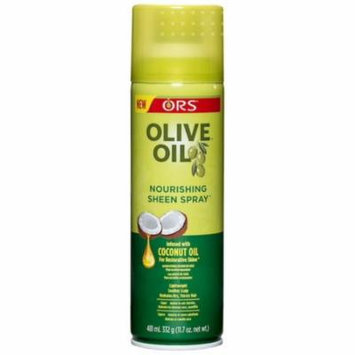 2 Pack - ORS Olive Oil Nourishing Sheen Spray infused with Coconut Oil 11.7 oz