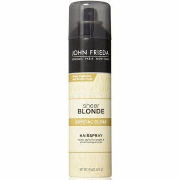 2 Pack - John Frieda Sheer Blonde Crystal Clear Hairspray 8.5 oz