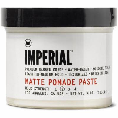 2 Pack - Imperial Barber Products Matte Pomade Paste 4 oz