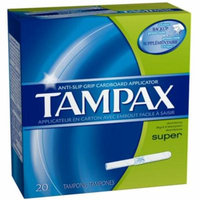6 Pack - Tampax Tampons Super 20 Each