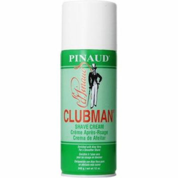 6 Pack - Clubman Shave Cream, 12 oz