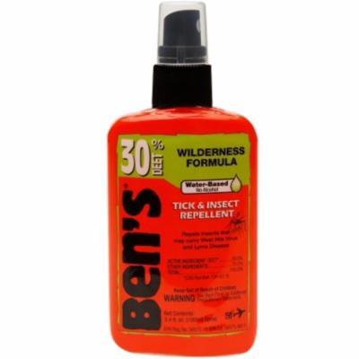 2 Pack - Ben's 30% Deet Insect Repellent Spray, 3.4 oz