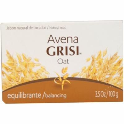 2 Pack - Avena Grisi Natural Oat Soap Balancing, 3.5 oz
