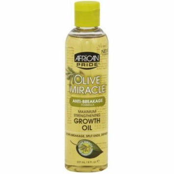 4 Pack - African Pride Olive Miracle Growth Oil, 8 oz