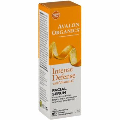 6 Pack - Avalon Organics Intense Defense with Vitamin C Facial Serum 1 oz