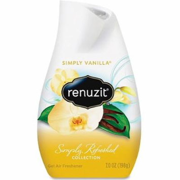 Renuzit Simply Refreshed Collection Gel Air Freshener, Simply Vanilla 7 oz